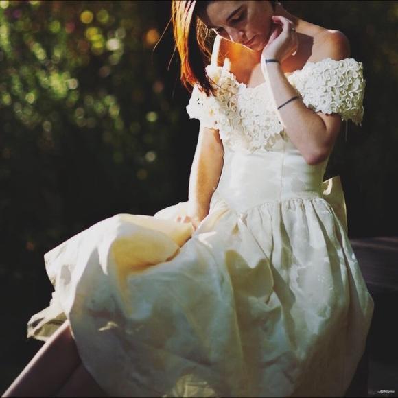 Dresses Vintage 1950s Wedding Dress Midcalf Poshmark